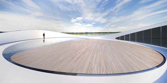 River Culture Multimedia Theater Pavilion / Asymptote Architecture