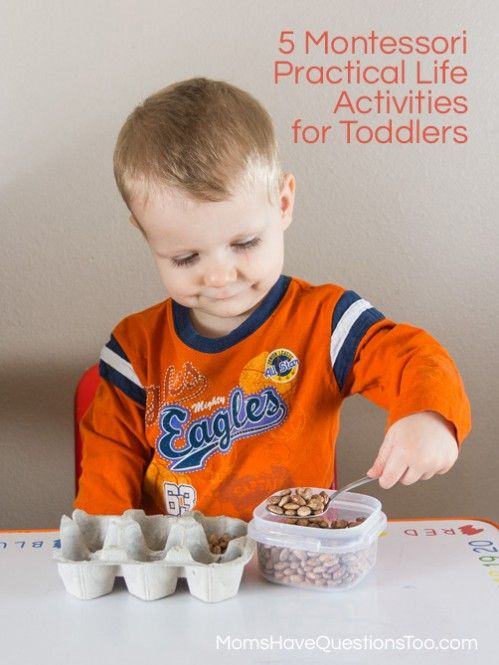 5 Montessori Practical Life Activities for Toddlers - Tot trays.... just learned about tot trays and I think it's a brilliant idea for motor skills and keeping kids busy