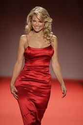 Christy Brinkley is an American model and actress best known for her three consecutive appearances on the cover of the Sports Illustrated Swimsuit Issue in the late 1970s and early 1980s, for her long-running contract with CoverGirl, one of the longest modeling contracts in history, and for her marriage to musician Billy Joel.  She currently lives in Sag Harbor, Long Island, NY.