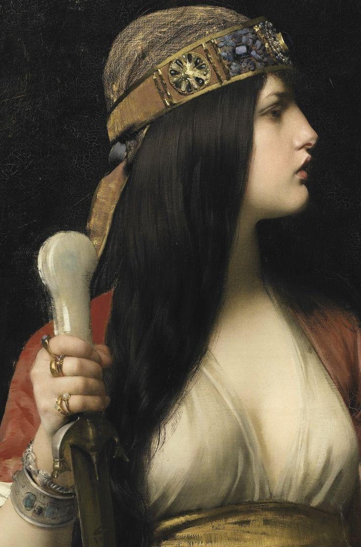 Jules Joseph Lefebvre - Judith (detail) - 1892