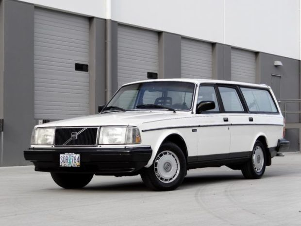 1986 Volvo 240 DL Wagon
