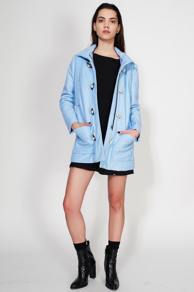 KLING - SKY HIGH MONTGOMERY LOOK #kling #coat #sky #awesome #winter #ozonstyle