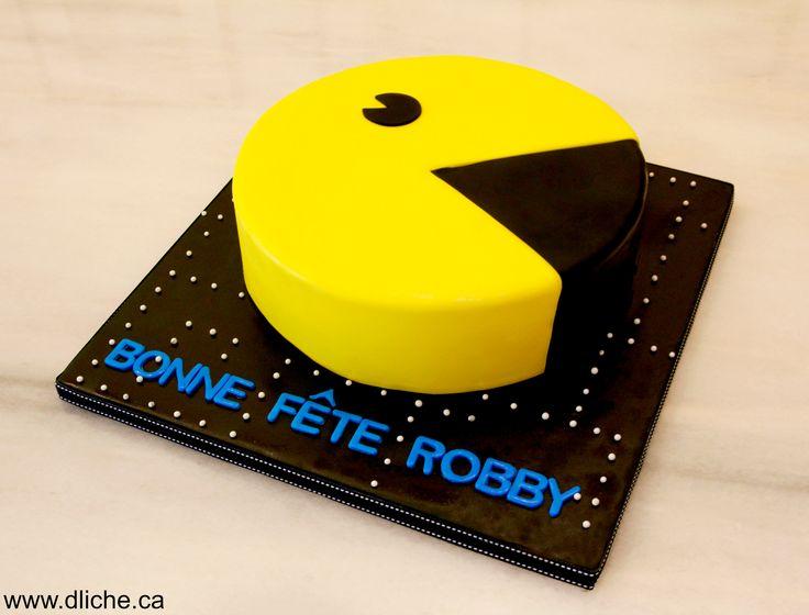 Gâteau Pacman! Pacman cake!