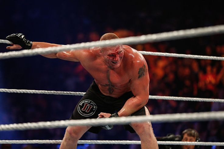 Strictly Sports :: Not Airing Brock Lesnar's House Show Appearance Was a Missed Opportunity