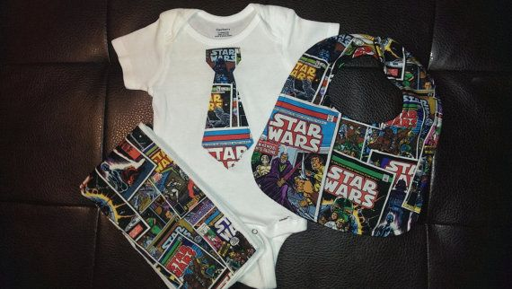 Boutique Star Wars Baby Gift Set by BonitaCouture on Etsy, $27.00