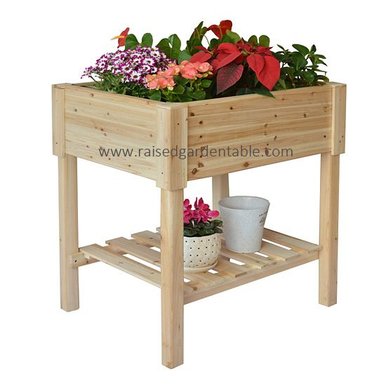 Rectangle Raised Flower Box Planter Bed 2 Tier Soil Pots: 17 Best Images About Raised Garden Beds On Pinterest