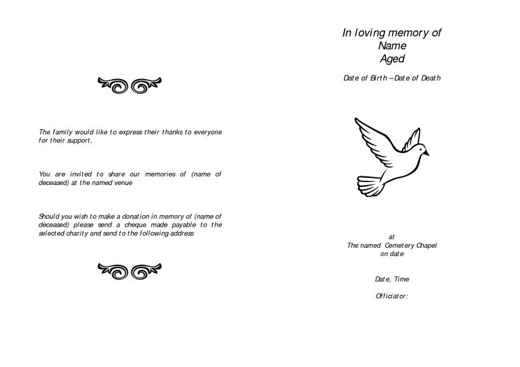 Memorial Quotes to Open or Close a Funeral Speech