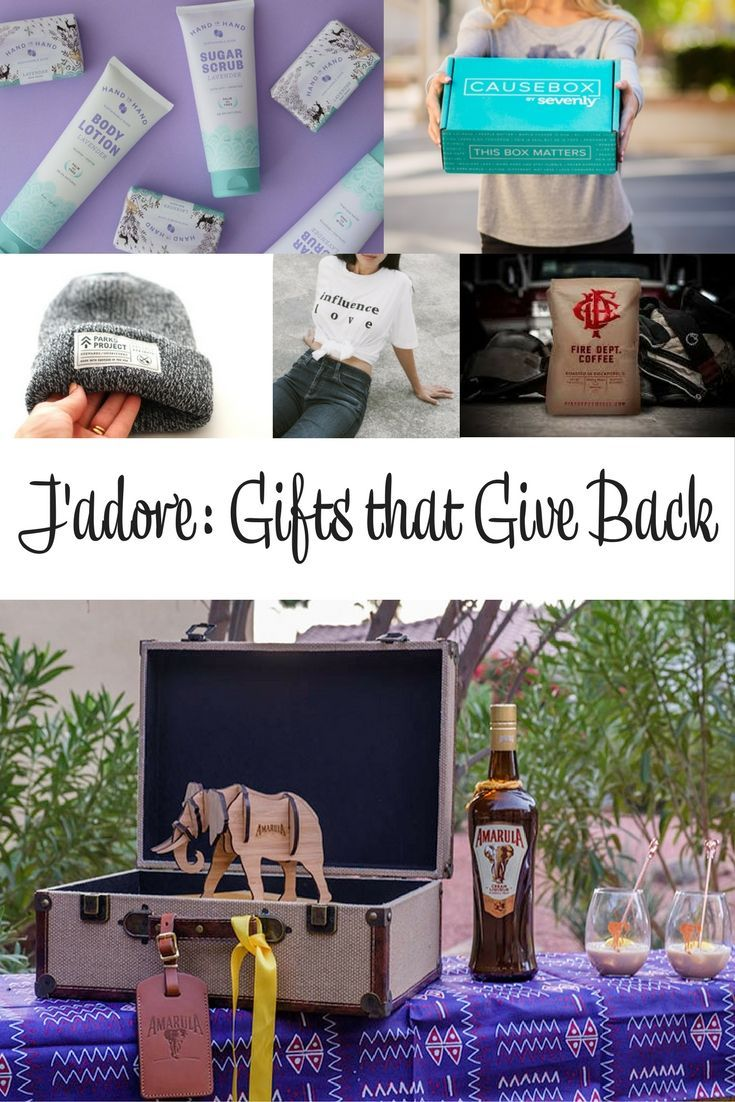 J Adore 73 Gifts That Give Back Gifts Going Away Gifts Friend Christmas