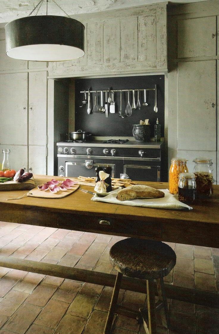 ~linen and lavender: La Cornue Kitchen
