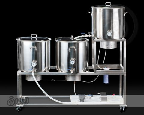 Synergy All Grain Home Brewing Systems   Stainless Steel And Aluminium TIG  Welding, Fabrication