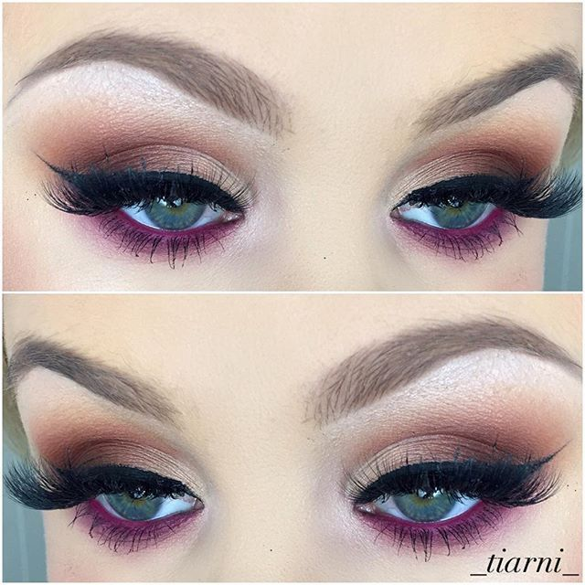 eyeshadows: Vermeer,tempera, golden ochre, raw sienna, burnt orange,  Cyprus umber, love letter, buon fresco @anastasiabeverlyhills modern Renaissance palette  @inglot_australia gel liner in black  @lamourminklashes in London  @anastasiabeverlyhills barbie pink (as a base on lower lash line)  @anastasiabeverlyhills brow definer in soft brown