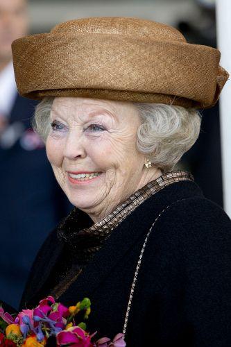 Princess Beatrix, January 11, 2014 | The Royal Hats Blog. she's great!
