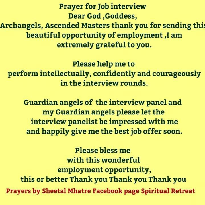 The 25+ best Job interview prayer ideas on Pinterest Prayer - thank you for the job offer