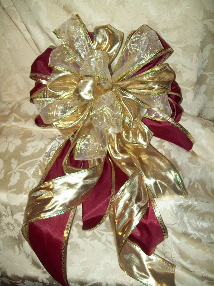 Christmas Tree Hair Bows