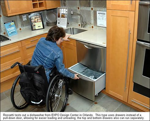 Image Detail For  Handicap Accessible Kitchen Remodels, Universal Designs,  Wheelchair . Part 58