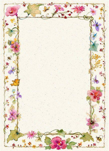Цветочные бланки для прекрасных посланий. Комментарии : LiveInternet - Российский Сервис Онлайн-Дневников