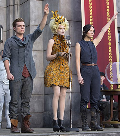 As worn by Katniss Everdeen in The Hunger Games: Catching Fire, the Sorel Conquest Carly Boot has the look to incite a rebellion.