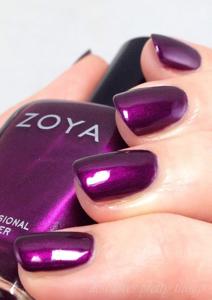 Nail Color Trends 2018: 25+ Best Ideas About Purple Nail Polish On Pinterest