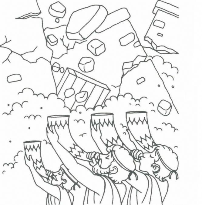 jericho coloring pages - photo#3