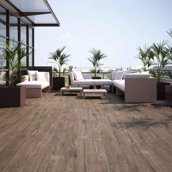 Konstantin Large Tiles Nogal Brown Wood Effect Tiles Balweb191 Wood Effect Tiles Outdoor