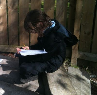 Using Thinking Journals Outside | Creative STAR Learning | I'm a teacher, get me OUTSIDE here!