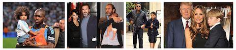 Enfants de stars et prénoms de garçons ridicules : best of du pire Djibril Cissé, Eric Cantona, Jermaine Jackson, Donald Trump