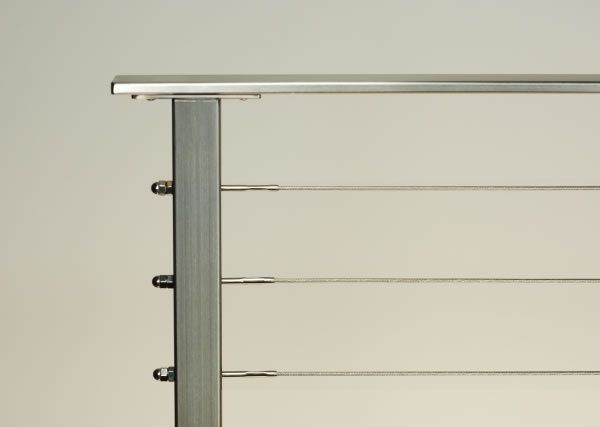 AGSstainless.com - Cable Rail Systems - Stainless Steel Cable Rail