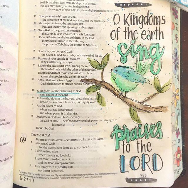 Psalm 68:32.  /  patjournals