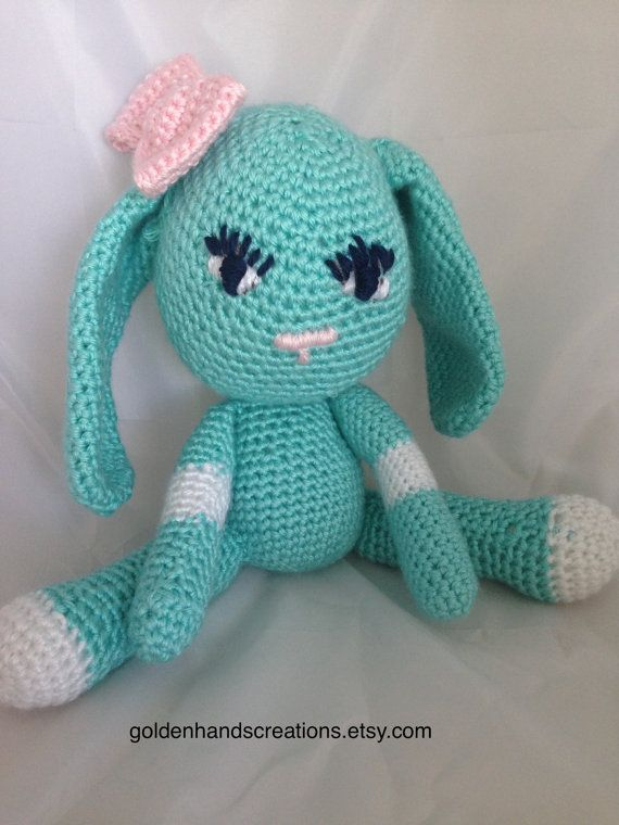 Amigurumi Floppy Bunny Pattern : 11 best images about Crochet and Knit on Pinterest Free ...