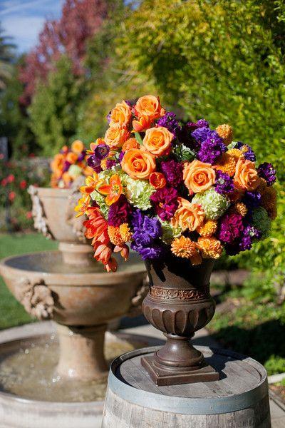 Orange Wedding Flowers, Wedding Flowers Photos by cathy stancil Photography - Image 7 of 26 - WeddingWire