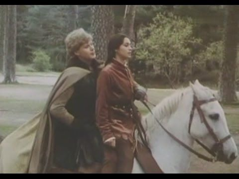 Benedict Taylor and Georgia Slowe in the Black Arrow.