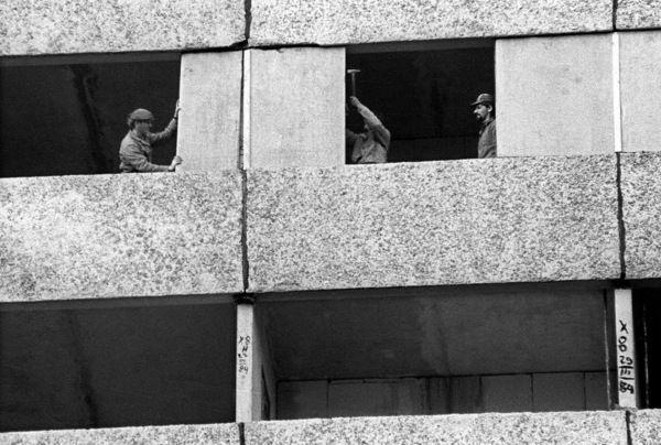 Budowa z wielkiej płyty; Białystok 1983