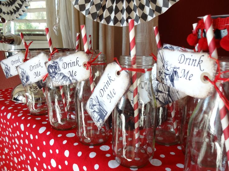 Chocolates For Breakfast: Alice In Wonderland Themed Baby Shower
