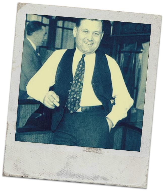 "George ""Bugs"" Moran (August 21, 1891 – February 25, 1957)"