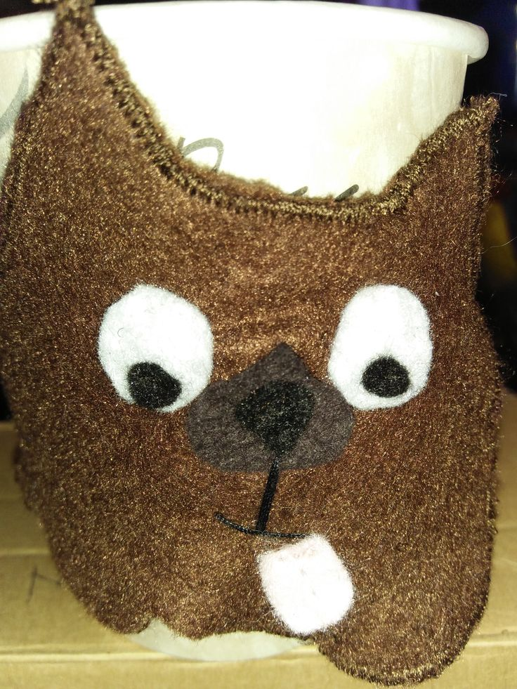 Coffee cup cosy $6