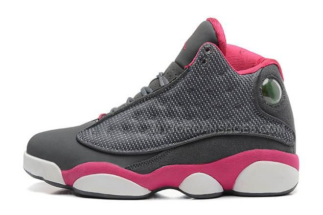 http://www.myjordanshoes.com/womens-air-jordan-13-xiii-gs-cool-greyfusion-pinkwhite-nike.html WOMENS AIR JORDAN 13 XIII (GS) COOL GREY/FUSION PINK-WHITE NIKE Only $74.00 , Free Shipping!