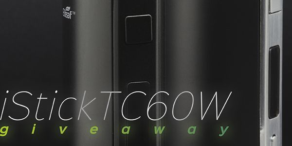 I entered in Eleaf's iStick TC60w Giveaway. I hope I win! Enter for your chance to win: http://upvir.al/6197/lp6197