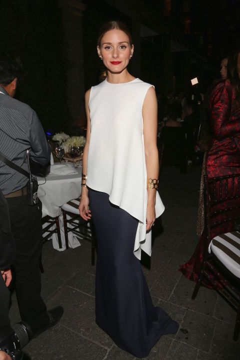 Olivia Palermo at an event in Mexico City. See all of the model's best looks.