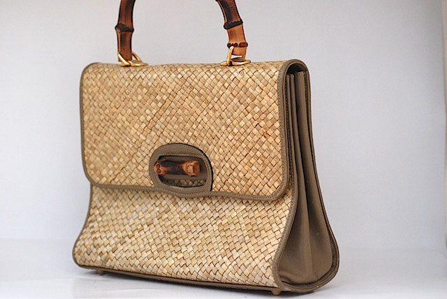 b09391f616 Pin by Janet Gordon Style on JG Style  Wicker Handbags