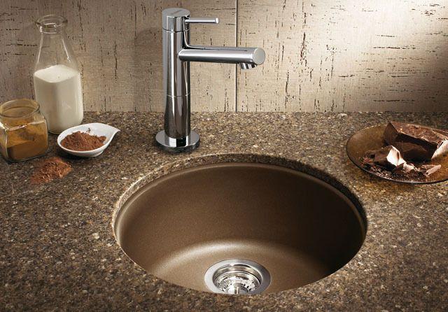 Blanco round composite sink