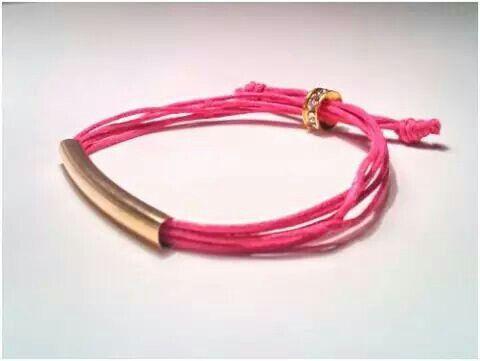 Pink Kaia Bracelet by Valquiria Handmade Jewellery