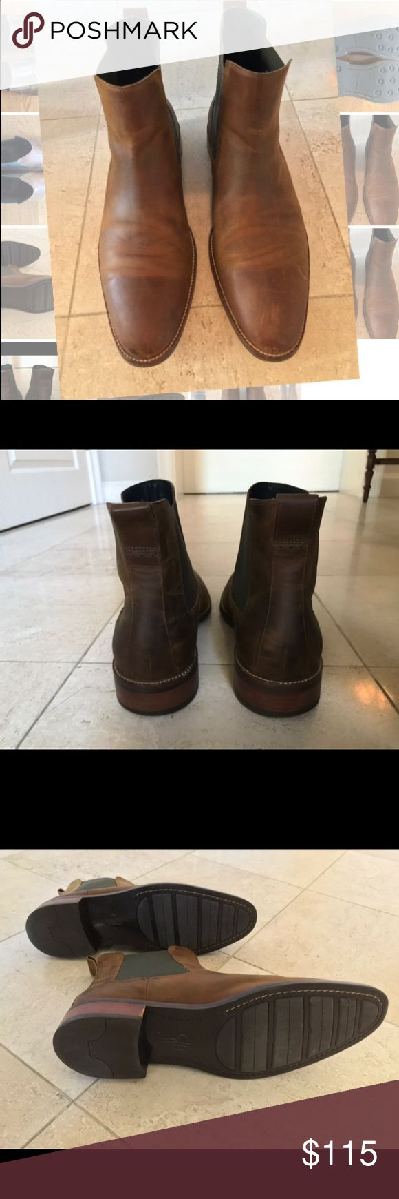 Cole Haan Lenox Hill Chelsea Boot Cooper Men's Cole Haan Lenox Hill Chelsea Boot Cooper WATER RESISTANT. Lightly used. Size 11 M Cole Haan Shoes