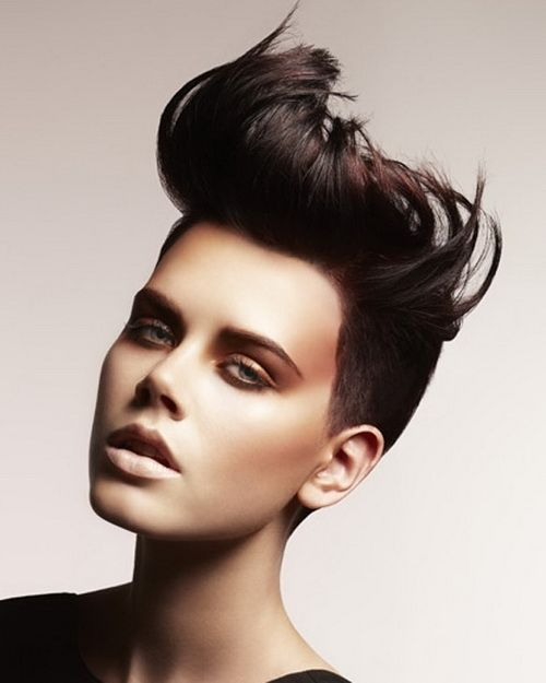 hair styles for white hair best 25 mohawk hairstyles for ideas on 9841