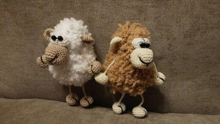 Amigurumi Crochet Sheep Toy for Baby, Knit Stuffed Lamb Sheep, Gift for Newborn Baby Cgild, Plush Stuffed Animal, Art Home Decor Mini Doll by TreasureMyIsland on Etsy