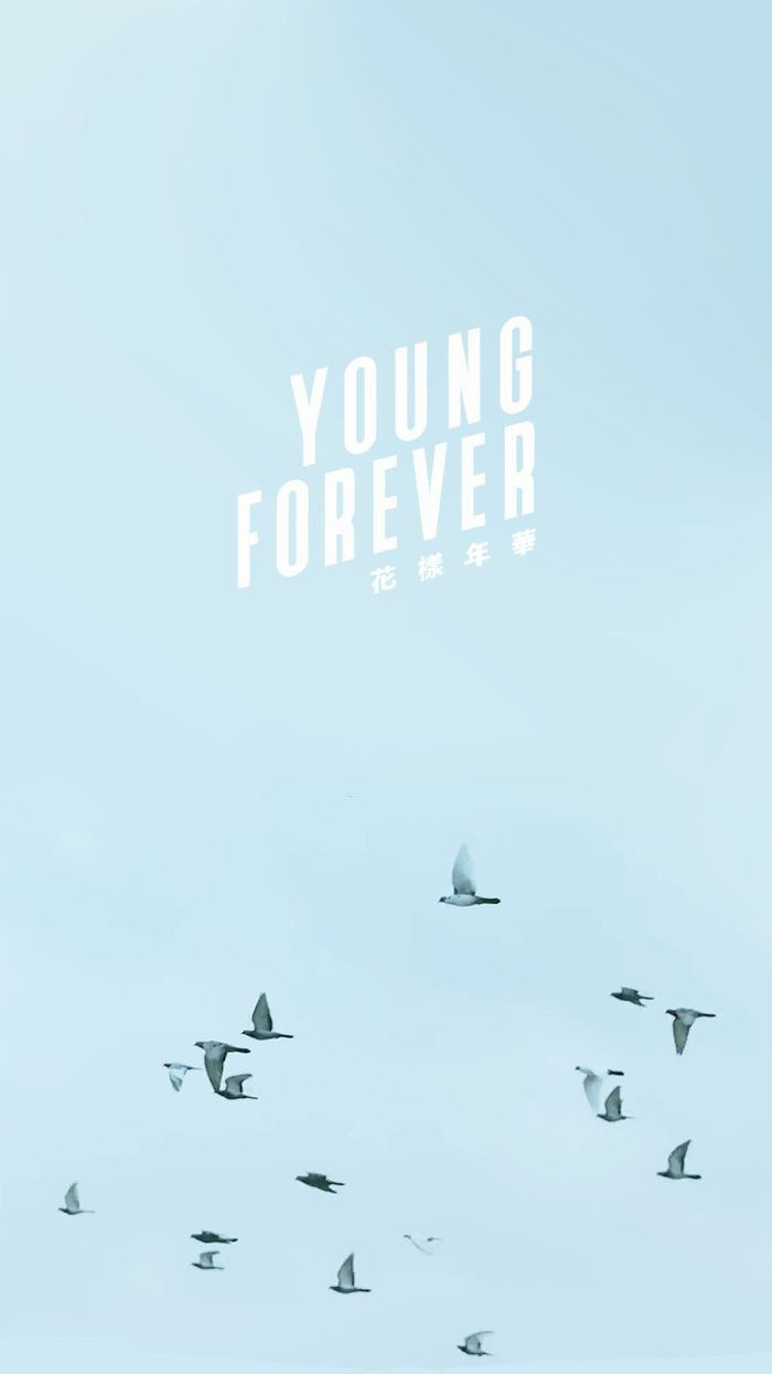 Iphone wallpaper tumblr kpop -  Wallpapers Young Forever Blue Ver Pink Ver