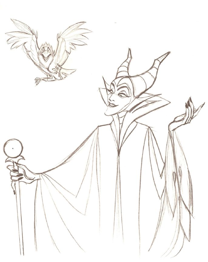 1000 images about art illustration animation disney for Evil queen coloring pages