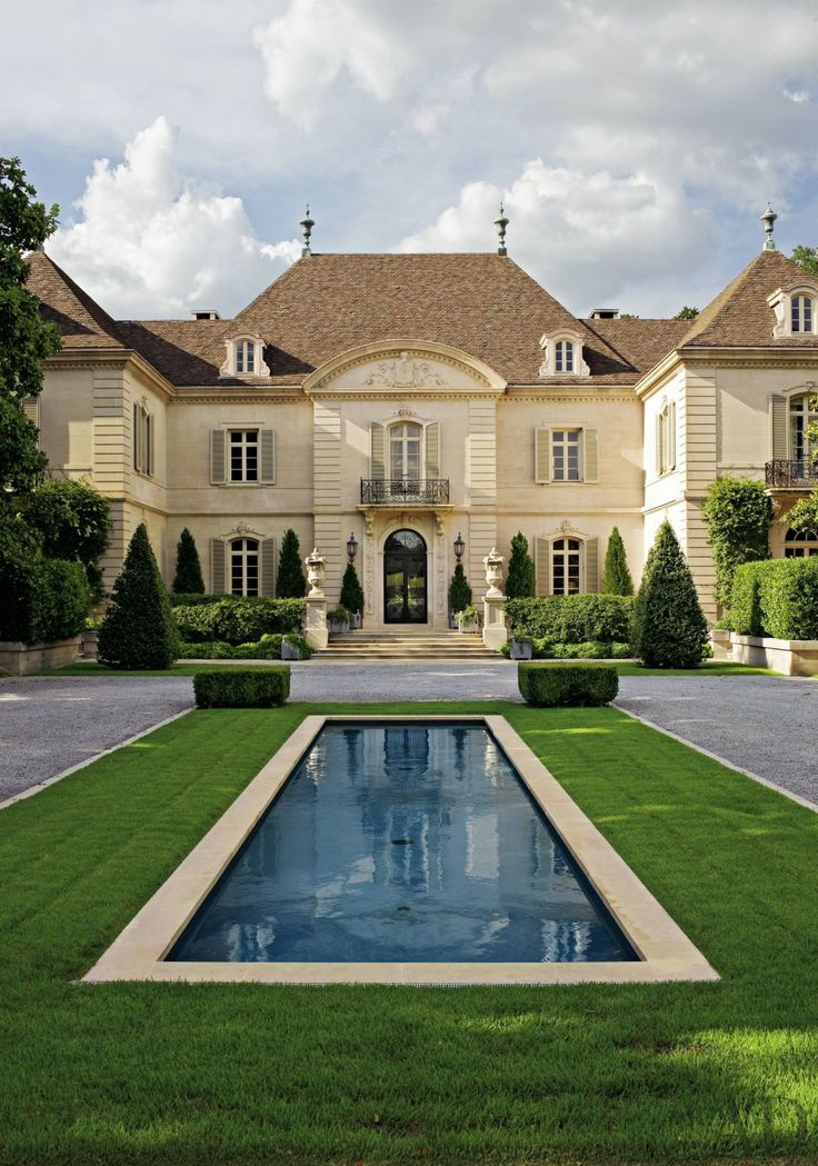 A perfect castle! What a dream!  #outdoorideas #outdoorluxurydesign #outdoorlivingspaces exterior design, outdoor spaces . See more inspirations at www.luxxu.net