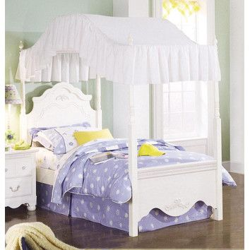 standard furniture diana canopy bed reviews wayfair - Gotische Himmelbettvorhnge