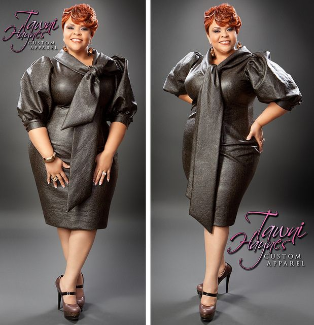 Tamela Mann in Tawni Haynes Custom Apparel