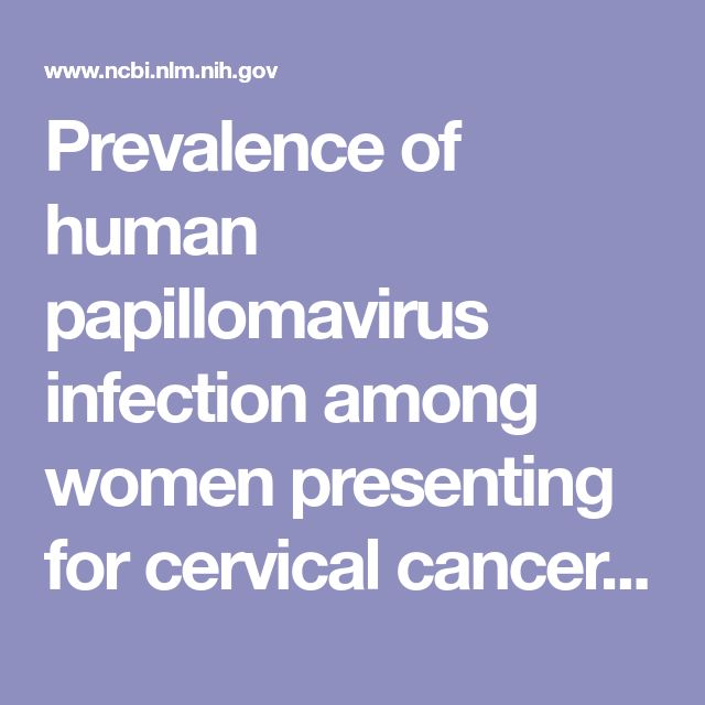 Prevalence of human papillomavirus infection among women presenting for cervical cancer screening in Chile, 2014-2015.  - PubMed - NCBI